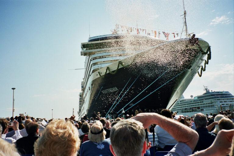 Inauguration of a newbuild ship